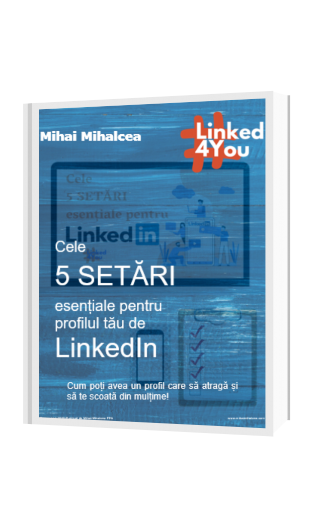 Cum sa utilizezi LinkedIn pentru conexiuni Profesionale si Profesioniste